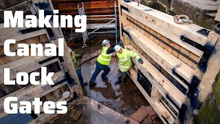 How are Canal Lock Gates made? Find out at the Canal & River Trust Stanley Ferry Workshop