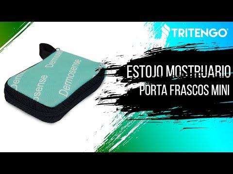 Estojo Mostruário Porta Frascos Mini em Neoprene para Brinde Corporativo - Tritengo