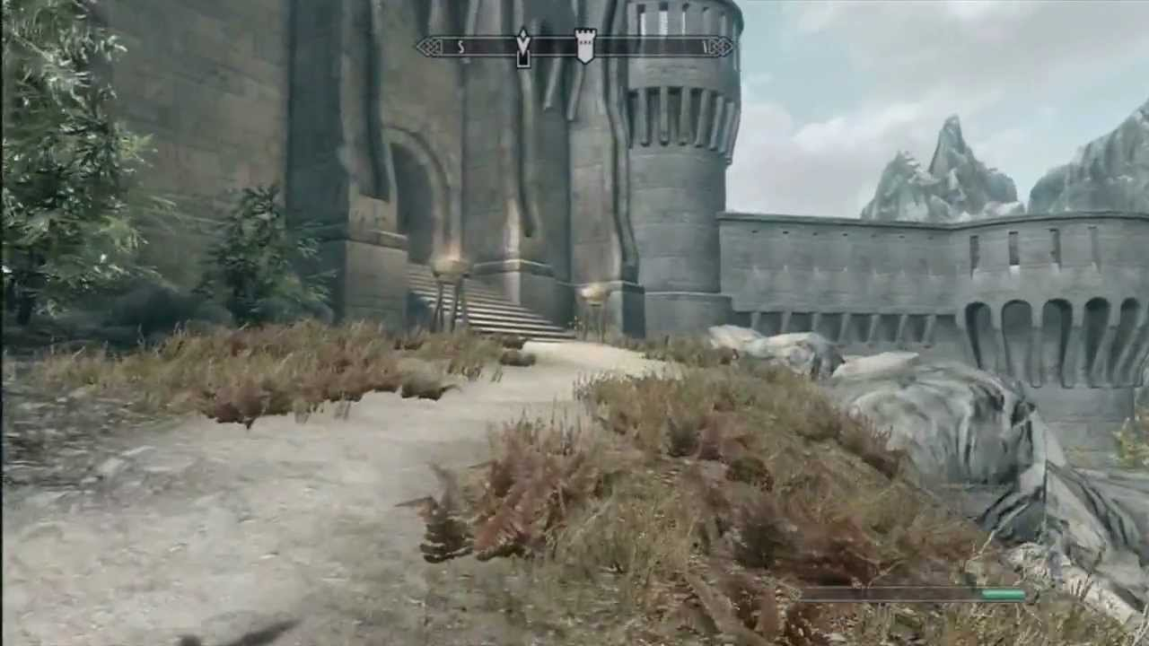 This Is How You Start Skyrim's Brand New Dawnguard Quest
