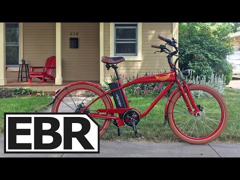Ariel Rider W-Class Video Review – $1.5k Beautiful Cruiser Electric Bike, 28 MPH, Throttle