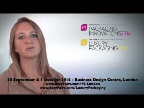 Packaging Innovations & Luxury Packaging London 2014 UK review