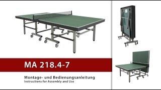 Andro теннисный стол складной