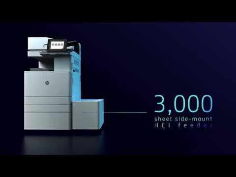 HP LaserJet Managed MFP E77825 and HP E77830