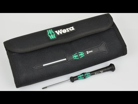 Wera Kraftform Micro Set - Elektronik-Schraubendreher
