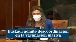 Euskadi admite descoordinación en la vacunación masiva de un hospital
