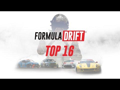 フォーミュラドリフト 2020年シーズンのセントルイス(ミゾーリ)Proラウンド2のTOP16 ドリフトバトルライブ配信動画