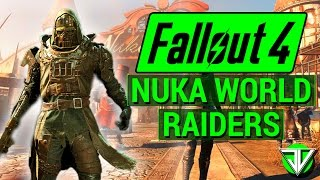 FALLOUT 4: NEW Nuka World DLC Leaked RAIDER GANGS and Locations! (Map Markers Reveal DLC Info!)