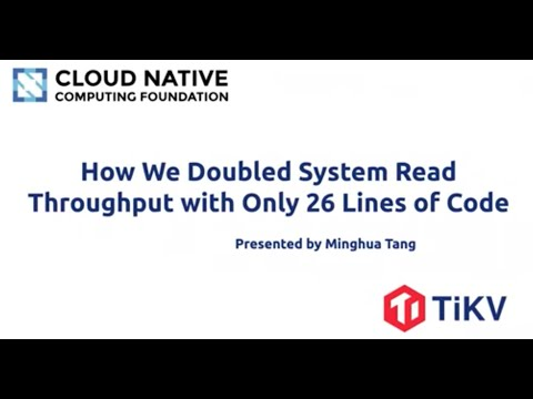 How we doubled system read throughput with only 26 lines of code