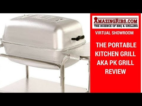 Watch This Portable Kitchen Grill aka PK Grill Review, Part 1