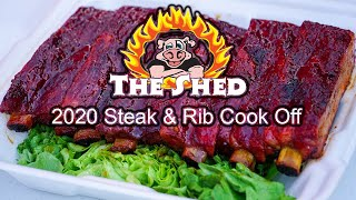 SCA Steak Competition 2020 | Shed BBQ Steak & Rib Competition 2020