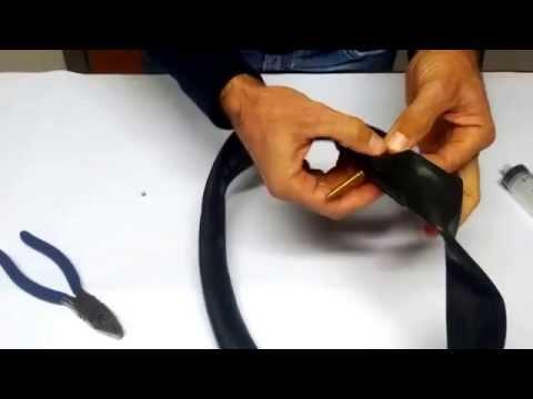 SMONTAGGIO valvola PRESTA per latticizzare camera d'aria