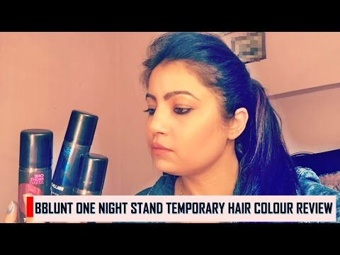 , title : 'BBLUNT ONE NIGHT STAND TEMPORARY HAIR COLOUR REVIEW  || BRONZE || BLUSH PINK || BLUE VELVET'