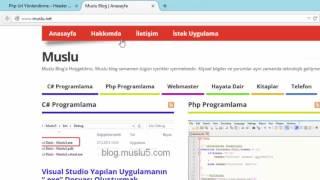 Php Url Yönlendirme ( Header Location )