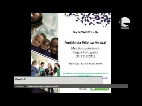 Comissão de Educação - Proteção à língua portuguesa - 14/06/2021