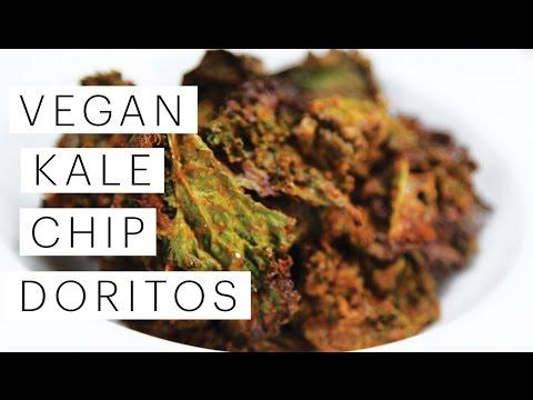 Video Vegan Kale Chip Doritos Recipe | The Edgy Veg