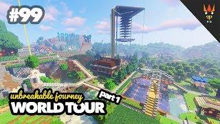 WORLD TOUR part 1 - Minecraft Indonesia #99