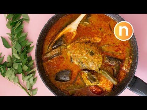 SECRETS TO Fish Head Curry (Mamak)   Kari Kepala Ikan (Mamak) [Nyonya Cooking]