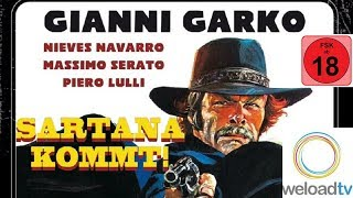 Sartana Kommt! (Western ganze Western Filme auf Deutsch)