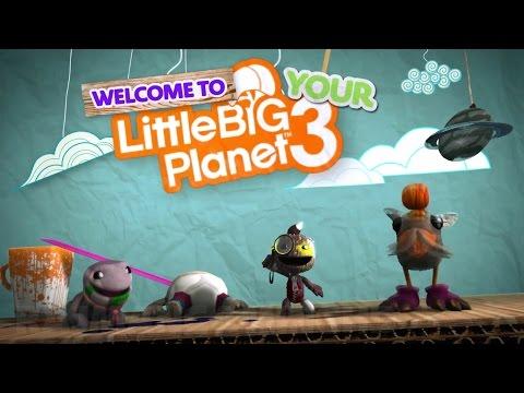 Видео № 2 из игры LittleBigPlanet 3 (Англ. Яз.) (Б/У) [PS3]