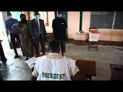 Benin votes for president after week of violent protests