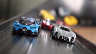 HOT WHEELS HYPERCAR MEGA SUPER CURVE CRASH RACE 3 | JonRacer3