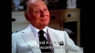 """Sir John Gielgud in """"Arthur"""" (1981)"""