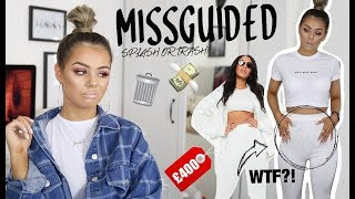 ARE YOU FOR REAL? I SPENT £400 ON MISSGUIDED. SPLASH OR TRASH | STYLING TRY ON HAUL