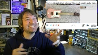 Did Fender Just Try to Shut Me Up? Is the New Jimmy Page Dragon Tele Uncool?