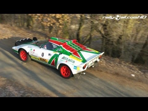 Lancia Stratos Rally Car in Action