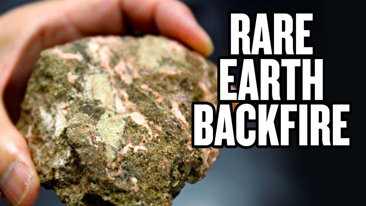 China's Threat to Weaponize Rare Earth Metal Exports Backfires thumbnail