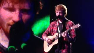 Even my dad does sometimes -  Ed Sheeran Itunes Festival  040