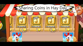 How to Share/Transfer Coins From One Farm to Second Farm (Tutorial) in Hay Day!