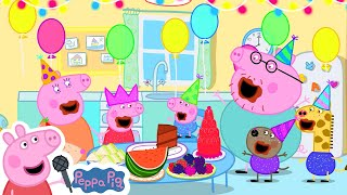 Happy Birthday to You Song | Peppa Pig Songs | Peppa Pig Nursery Rhymes & Kids Songs