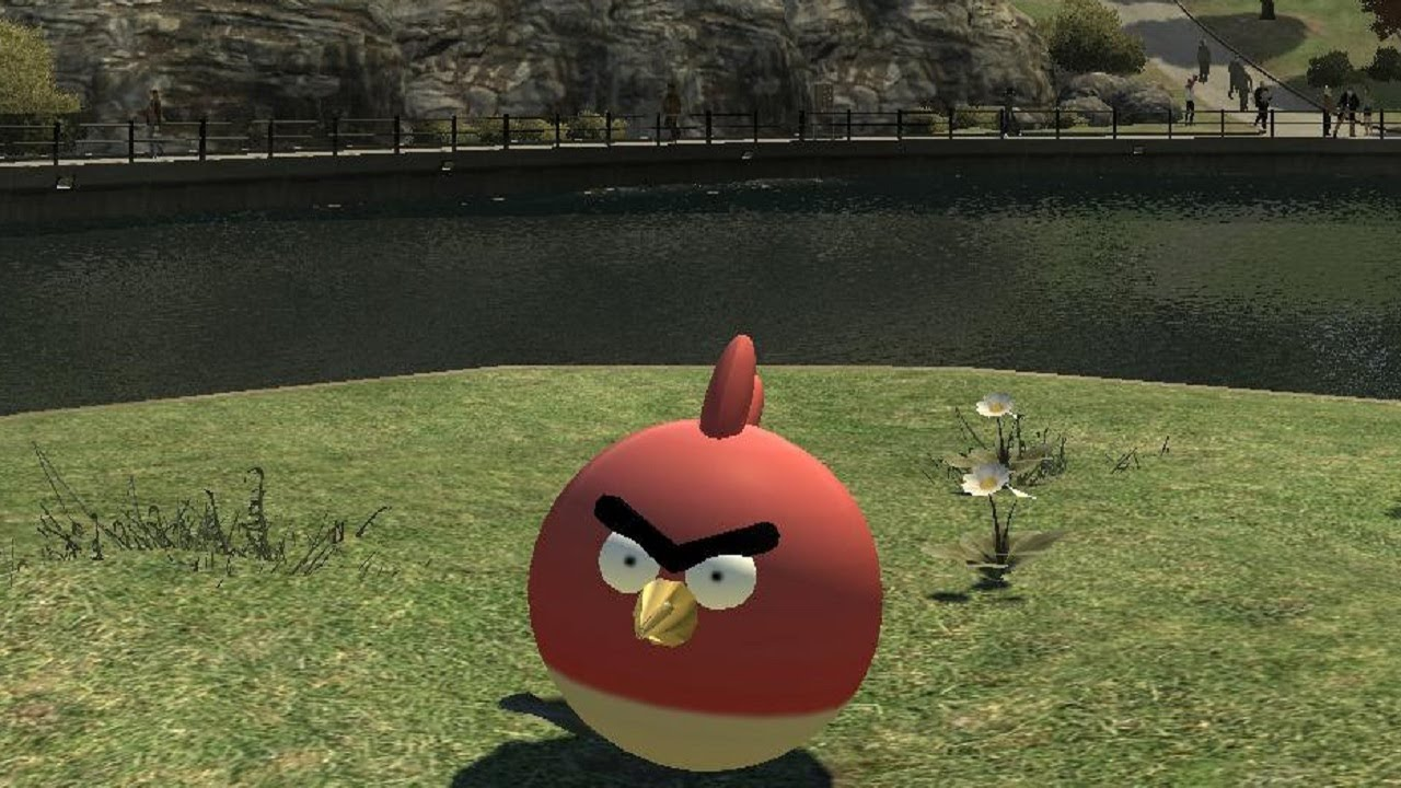 Playing Grand Theft Auto As An Angry Bird Looks Like A Blast