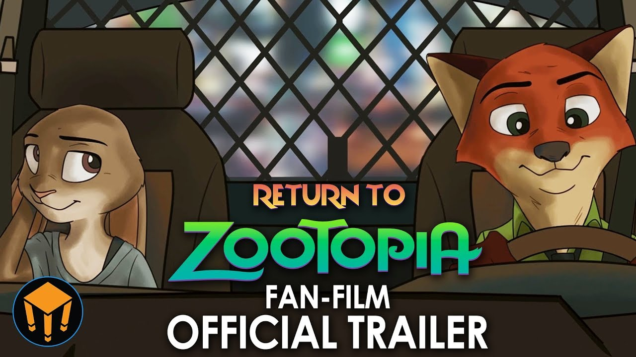 Return To Zootopia Gets a New Trailer! (FAN-MADE MOVIE)