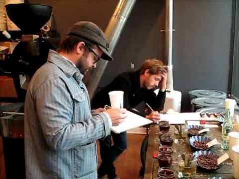 Coffee Cupping at Gaslight Coffee Roasters, Chicago