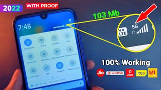 Get 103Mb 5G Speed in Any Sim Using Just 1 Secret Setting | Jio APN Setting TechnoMind Ujjwal