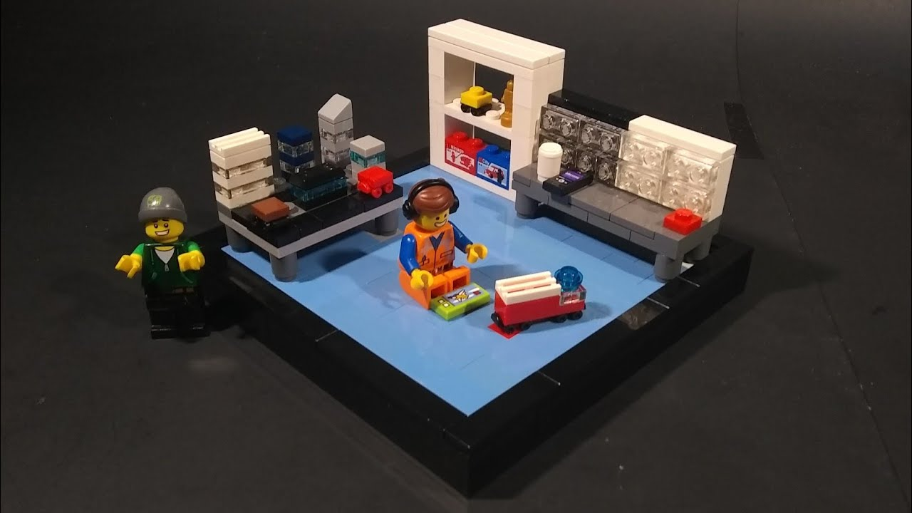 Lego Room Vignette MOC Tutorial!