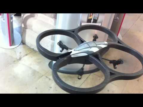 Parrot Ar.Drone Testflug mit iPhone 4