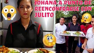 Pero que hace Johana en esta cena😱? Que reacción tendrá Julio al ver a su EX?🤔 Capitulo 14