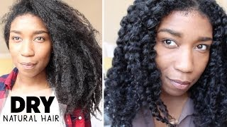 Moisturizing Dry Natural Hair | Retaining Moisture - Naptural85