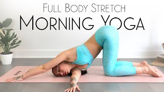 10 Minute Morning Yoga Full Body Stretch ( Feel Your BEST! )