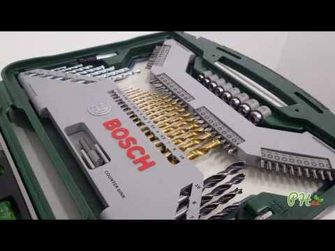 Maletín Bosch X-line de 103 piezas para taladrar y atornillar