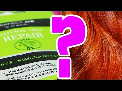 Maska do włosów z olejem roślinnym i żółtkiem na porost włosów