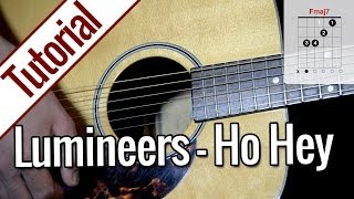 The Lumineers   Ho Hey | Gitarren Tutorial Deutsch