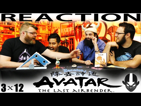 Avatar: The Last Airbender 3x12 REACTION!!