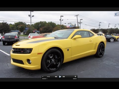 2012 Chevrolet Camaro SS Transformers Edition Review