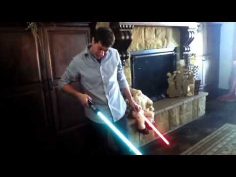 Giving A Baby A Lightsabre Is Never A Good Idea