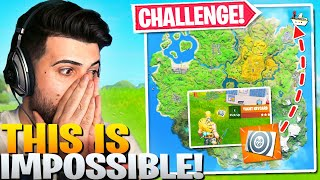 The *IMPOSSIBLE* Yacht Keycard Challenge! (Fortnite Battle Royale)