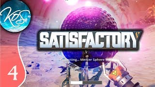 Satisfactory Ep 4: SMELTING LINE - Early Access / Desert Beauty - Let's Play, Gameplay